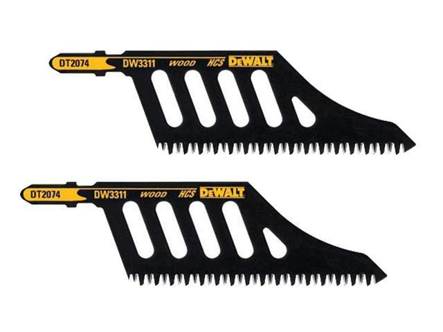 dewalt dc330 dc331 jig saw 2 pack replacement dw3311 blade rh newegg com De Walt Cordless Blower JawSaw De Walt