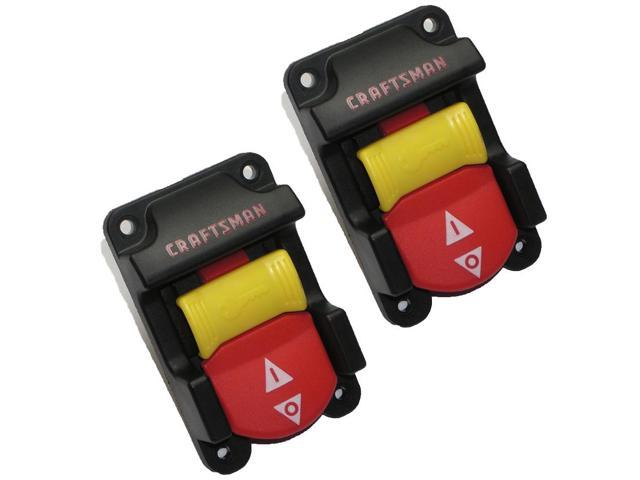 Craftsman 315218290 Table Saw Replacement 2 Pack Switch Key Set 089110103701 2pk