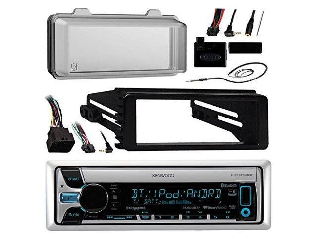 Stereo Radio Dash Kit+Steering Control Wire for some 1998-2013 Harley Davidson