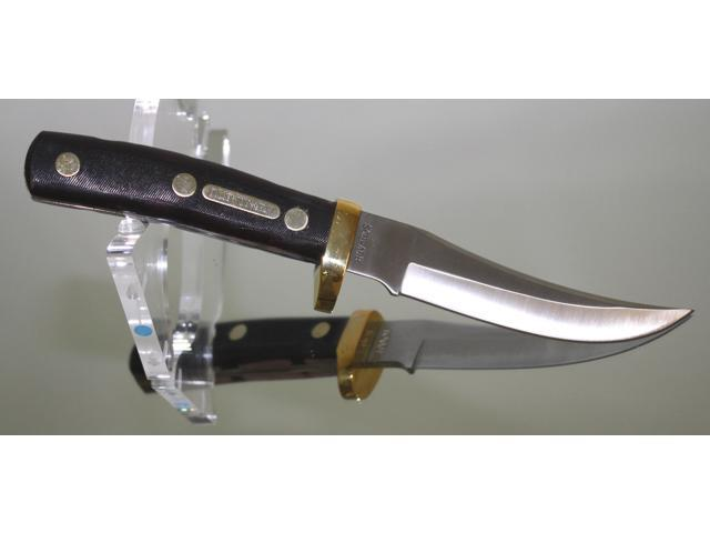 Schrade Mountain Lion Knife w/Leather Sheath 160OT - Newegg com