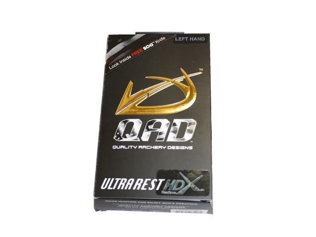QAD Ultra Rest HDX (Black) - Lancaster Archery Supply ...