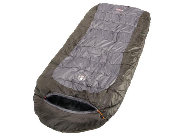 new product a19a0 3ef2f Coleman Dexter Point 30 Big and Tall Contoured Sleeping Bag 2000018135 -  Newegg.com