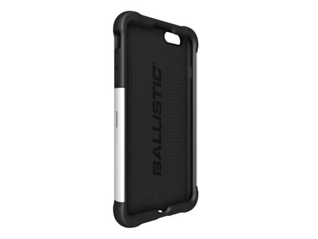 brand new 27b66 b483d BALLISTIC TJ1428-A08C iPhone(R) 6 Plus/6s Plus Tough Jacket(TM) Case  (Black/White) - Newegg.com