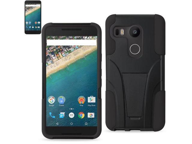 timeless design b6c0e 7ece5 LG Nexus 5X/ Google Nexus 5 Case, Reiko Hybrid Case Cover with Kickstand  for LG Nexus 5X/ Google Nexus 5, Black - Newegg.com