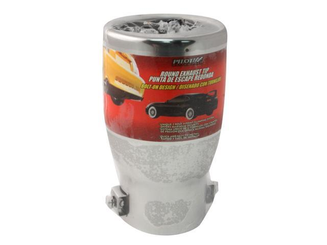 Pilot Automotive PM-583 Round Stainless Steel Bolt On Exhaust Tip Fits: 3 5  inch Outlet - Newegg com