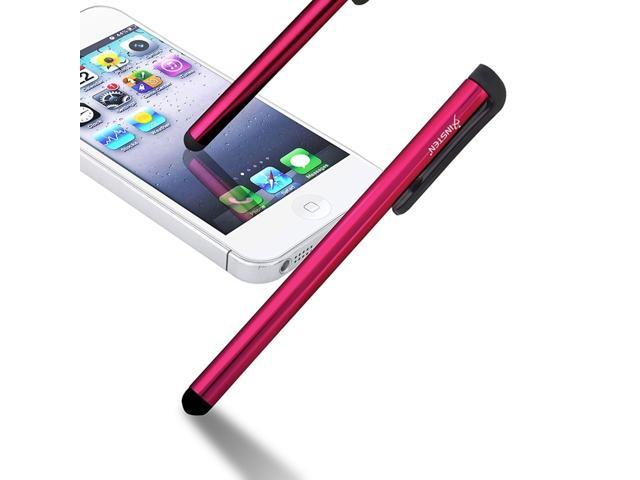 Insten Universal Touch Screen Stylus Pen Red For iPhone XS XS Max XR X7  iPad Samsung Galaxy Tab 4 LG Pad Tablet RCA iView Smartab Ematic HIGHQ  Sprout