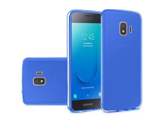 Samsung Galaxy J2 (2019)/J2 Core (J260) Case, by Insten TPU Rubber Candy  Skin Clear Case Cover For Samsung Galaxy J2 (2019)/J2 Core (J260), Blue -