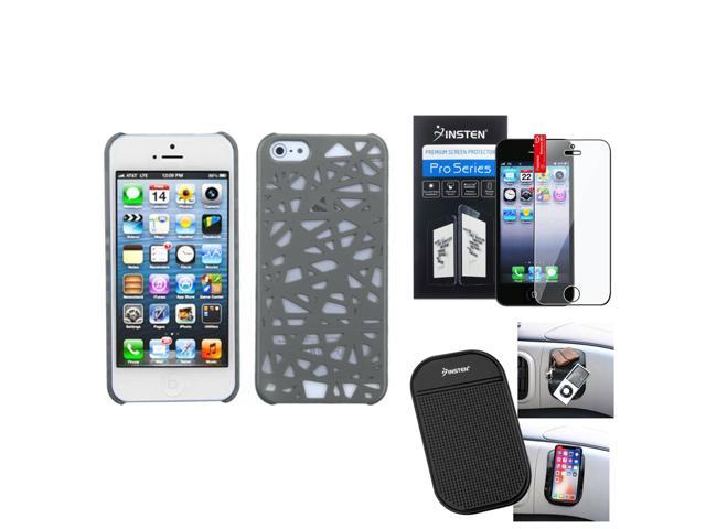 NAZTECH Vault Waterproof Cover for iPhone SE 5 and 5s - White