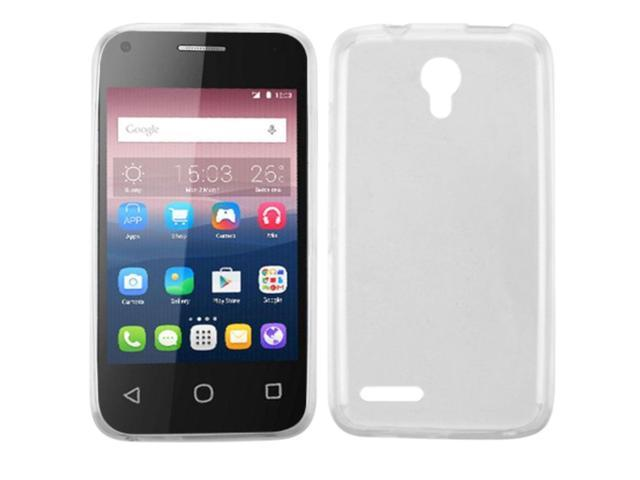 premium selection efe36 53ba2 Insten Gel Cover Phone Case For Alcatel One Touch Pixi 4 (3.5) - Clear -  Newegg.com