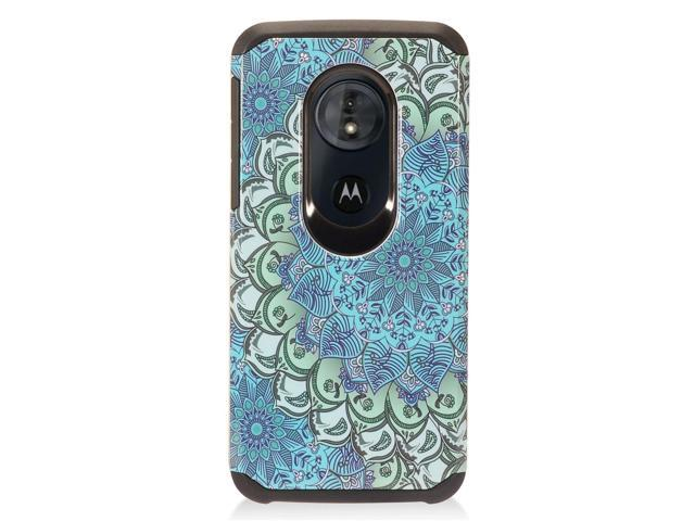 brand new a622a cd093 Moto G6 Play case Moto G6 Forge case by Insten Flower Dual Layer [Shock  Absorbing] Hybrid Hard Plastic/Soft TPU Rubber Case Cover For Motorola Moto  G6 ...