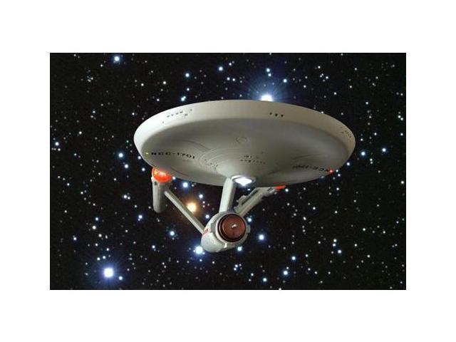 STAR TREK TOS USS Enterprise NCC-1701 Gold Bottle Opener Diamond