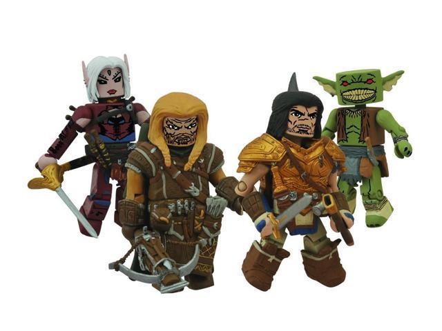 Pathfinder Minimates Set of 4 Figures Human Fighter, Harsk, Ranger and Elf  Rogue - Newegg com