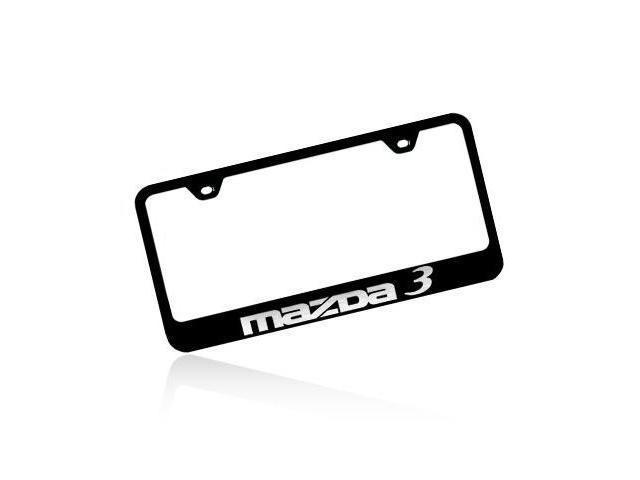 Mazda 3 Black Steel License Plate Frame - Newegg.com