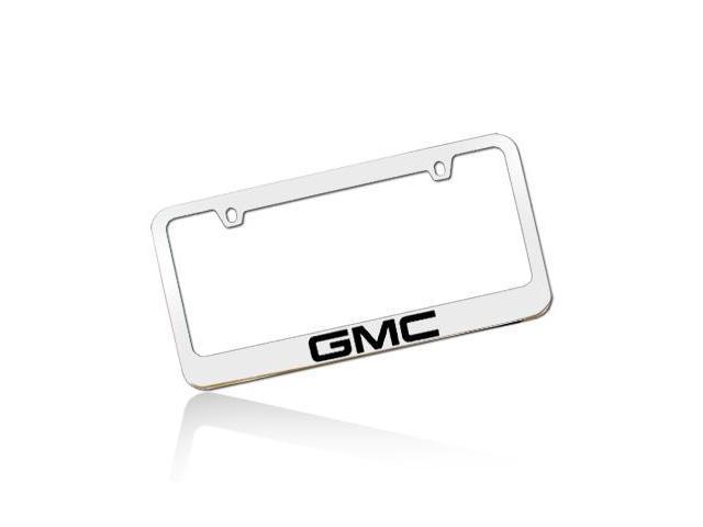 GMC Chrome Metal License Plate Frame - Newegg.com
