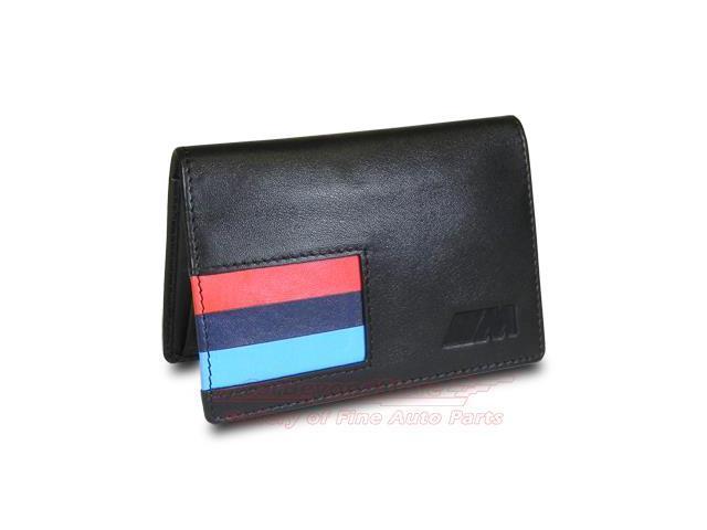 Bmw m stripe black leather business card holder newegg bmw m stripe black leather business card holder colourmoves