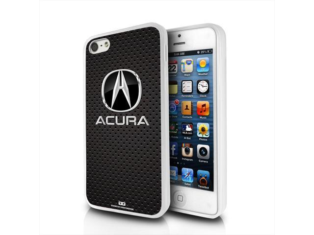 Acura Logo Carbon Fiber Look IPhone Clear TPU Cell Phone Case - Acura phone case