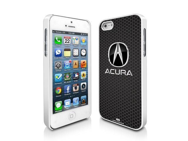 Acura Logo Honeycomb Grill IPhone White Cell Phone Case Neweggcom - Acura phone case