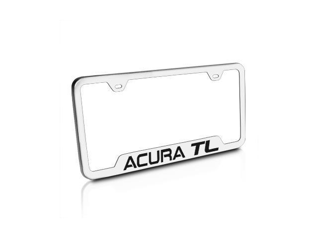 Acura TL Brushed Stainless Steel Auto License Plate Frame Neweggcom - Acura tl license plate frame