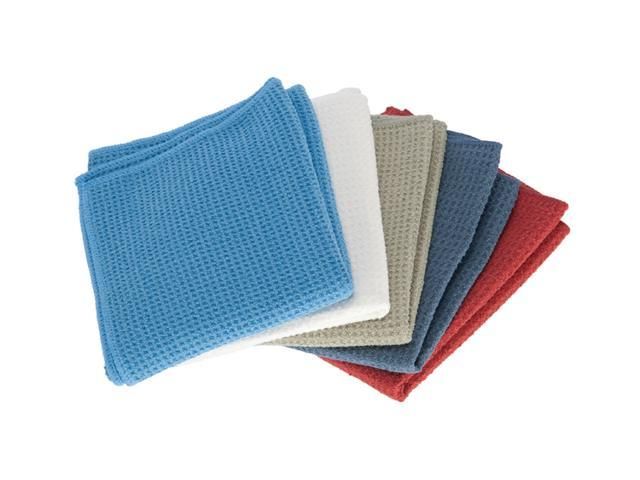 Real Clean Waffle Weave Kitchen Towels 16 Quot X24 Quot Brick Red