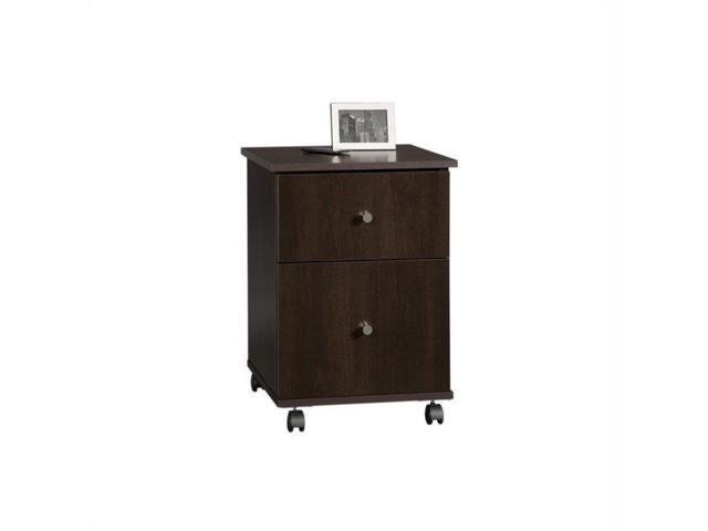 Sauder Select Mobile File Cabinet In Cinnamon Cherry Newegg Com