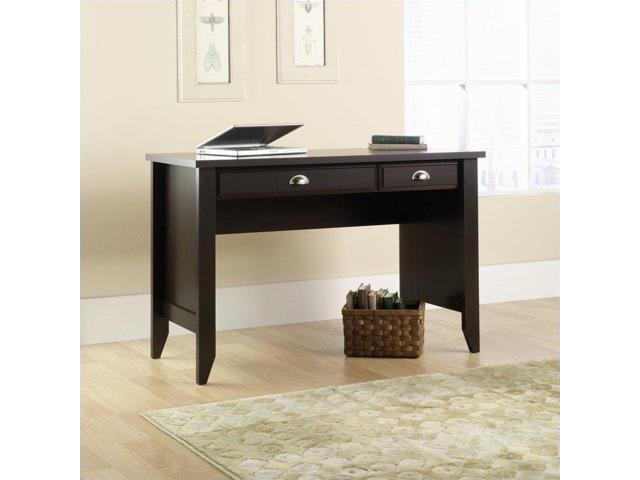 Sauder Shoal Creek Desk In Jamocha Wood Newegg