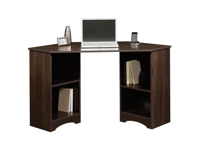 Sauder Beginnings Corner Desk In Cinnamon Cherry Newegg Com