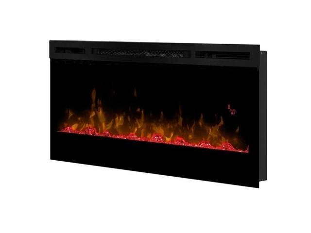 Cool Dimplex Prism 34 Wall Mount Linear Electric Fireplace Insert In Black Newegg Com Interior Design Ideas Clesiryabchikinfo