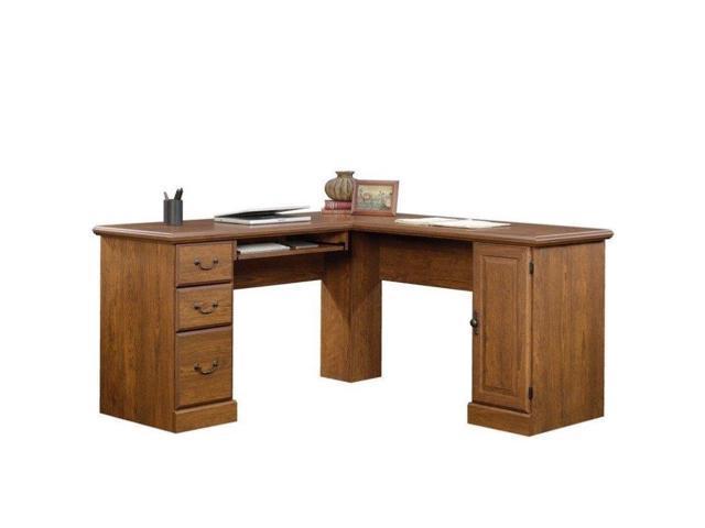 Sauder Orchard Hills L Shaped Computer Desk In Milled