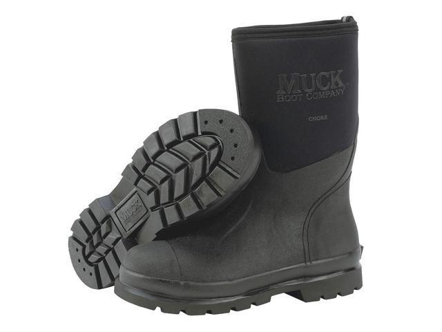 """DUNLOP E662843 Knee Boots,Sz 7,14/"""" H,Green,Stl,PR"""