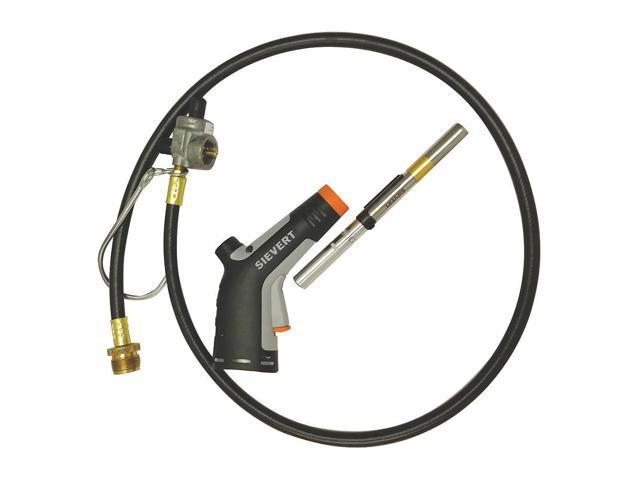 SIEVERT 2535-40 Hose Torch Kit, Cyclone, 9 in  L - Newegg com
