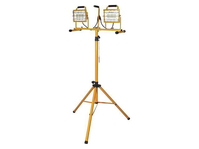 CFL Yellow Temporary Job Site Light WOBBLE LIGHT 111205 5000 Lumens