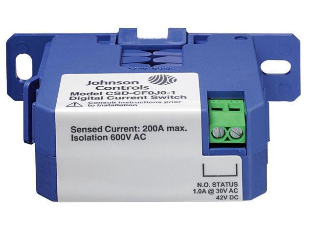Current Sensing Relay,1 5A,Self Powered JOHNSON CONTROLS CSD-CF0J0-1 -  Newegg com