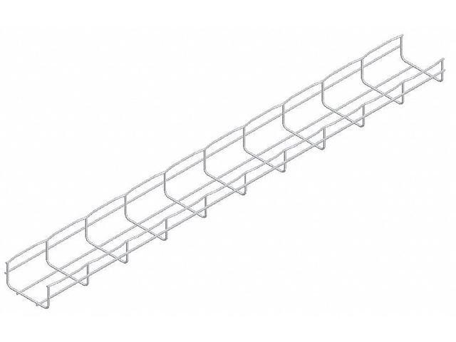 CF105//150EZ CABLOFIL Steel Wire Mesh Cable Tray,6x4In,10 Ft