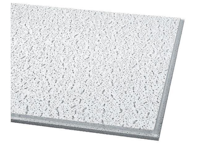 24 Lx24 W Acoustical Ceiling Tile Fissured Mineral Fiber Pk16 Armstrong 705 Newegg Com