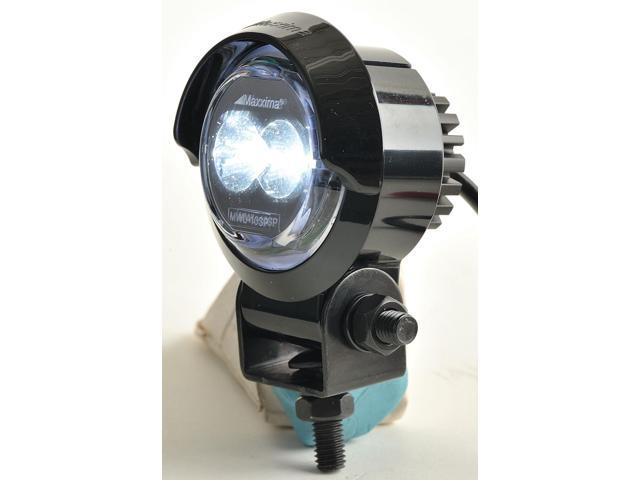 Maxxima Mwl 10sp Sm Work Light Round Led 12vdc 2 In Dia