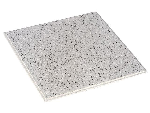 """Mineral Fiber 24/""""Lx24/""""W Acoustical Ceiling Tile Fissured 16PK ARMSTRONG 896"""