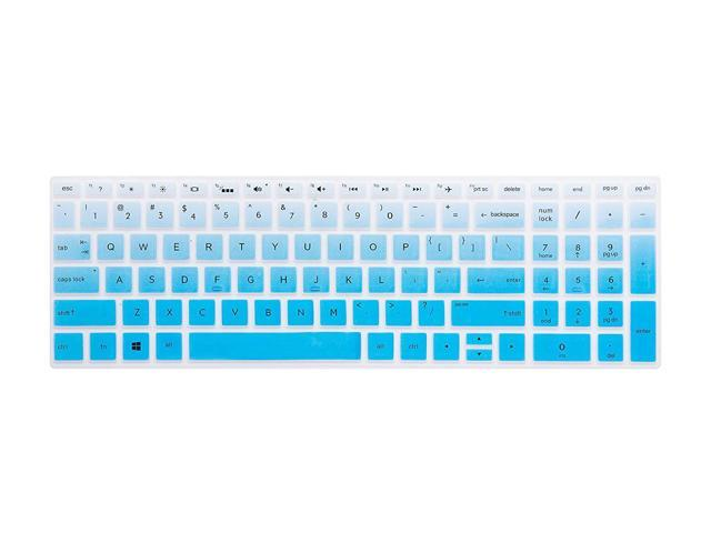 Rose Ultra Thin Keyboard Cover for 15.6 HP Pavilion X360 15-BR,Pavilion 15-CC 15-CH 15-CD 15-CB 15-BS 17-BS 17M-AE Serie Touch-Screen Laptop Leze