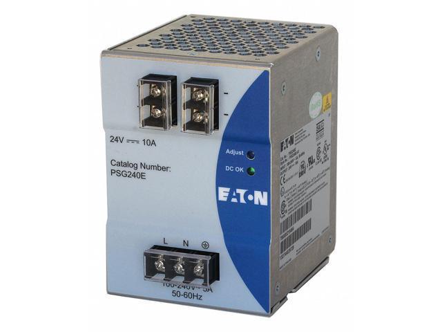 EATON PSG240E DC Power Supply,24VDC,10A,50/60 Hz - Newegg com