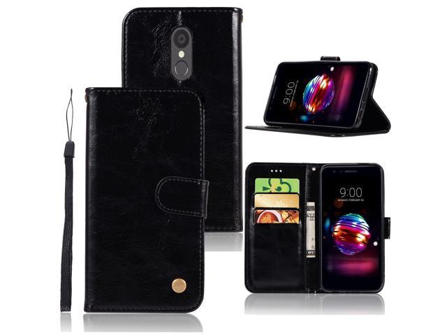 LG Aristo 2 Case, LG Tribute Dynasty Case, LG Zone 4 Case, LG K8 2018 Case,  Zoeirc PU Leather Wallet Flip Protective Case Cover with Card Slots and