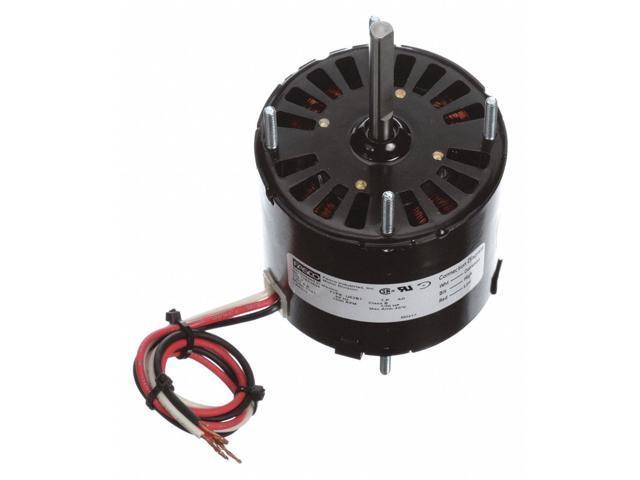 """HVAC 3.3/"""" Motor,1//30 HP,240V,CW D1118"""
