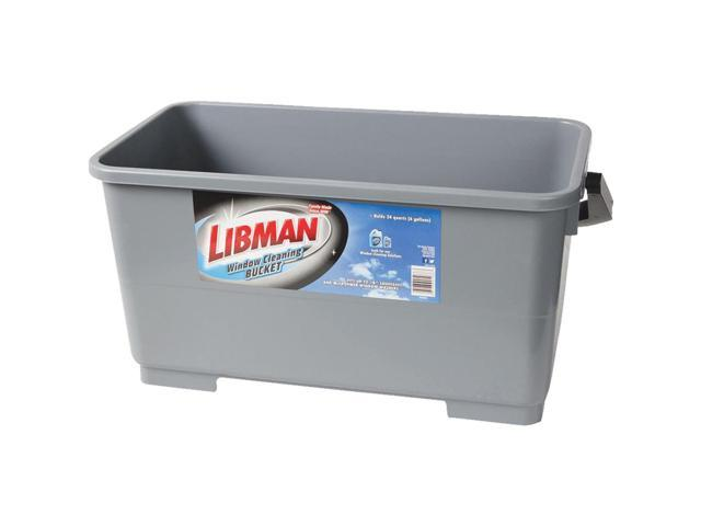 The Libman Company 6 Gallon Window Clean Bucket 1066 - Newegg com