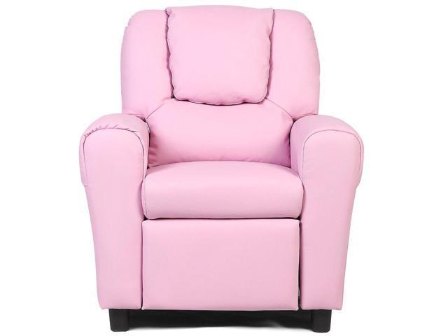 Excellent Kids Recliner Armchair Sofa Pink Newegg Com Pabps2019 Chair Design Images Pabps2019Com