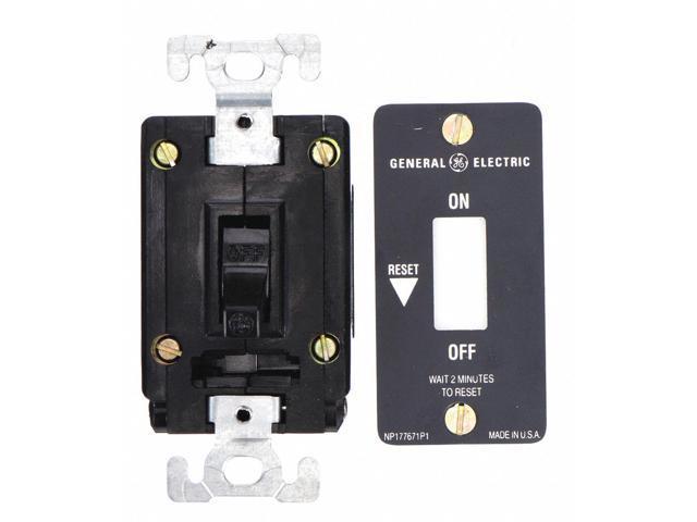 Ge Toggle Manual Motor Starter, Enclosure NEMA Rating No Enclosure, 16 Amps  AC - Newegg com
