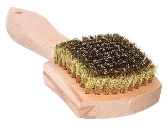 """Scratch Brush,Short Handle,Overall 8/"""" L 27668GS"""