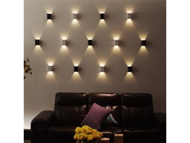 Modern 3W LED Square Wall Lamp Hall Porch Walkway Living Room Light Bedroom  Light Fixture