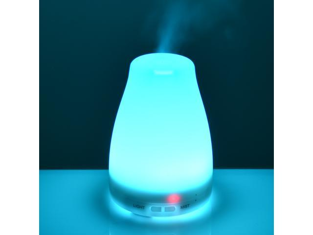 LED Light Home Purifier Humidifier Lamp Oil Diffuser Ceramic Shade change color