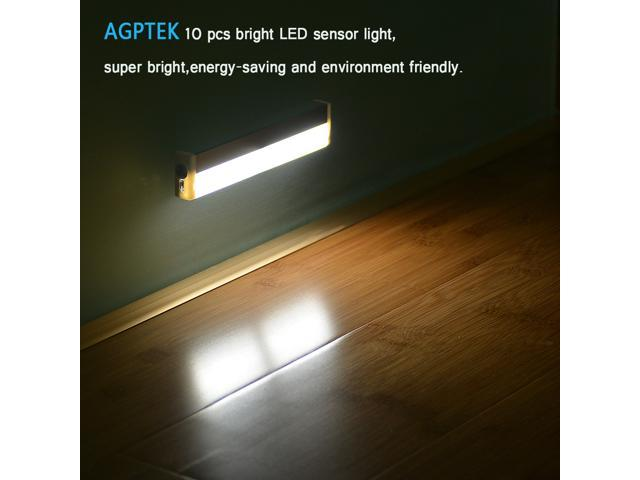 AGPtek® Wireless Battery Operated 10 Led Night Lights/ 10 LED IR Sensor  Closet