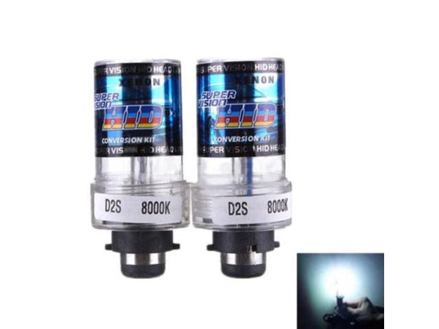 New-6000K-D2S-D2R-D2C-HID-Xenon-Bulbs-Replace-Factory-HID-Headlight-Pair  New