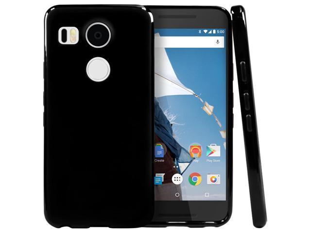 reputable site 4ffaf 87223 LG Google Nexus 5X 2015 Case, [Black] Slim & Flexible Anti-shock Crystal  Silicone Protective TPU Gel Skin Case Cover - Newegg.com