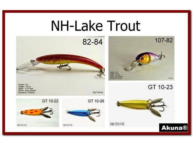 Sporting Goods Trout fishing lures variety pack of 5 Fishing